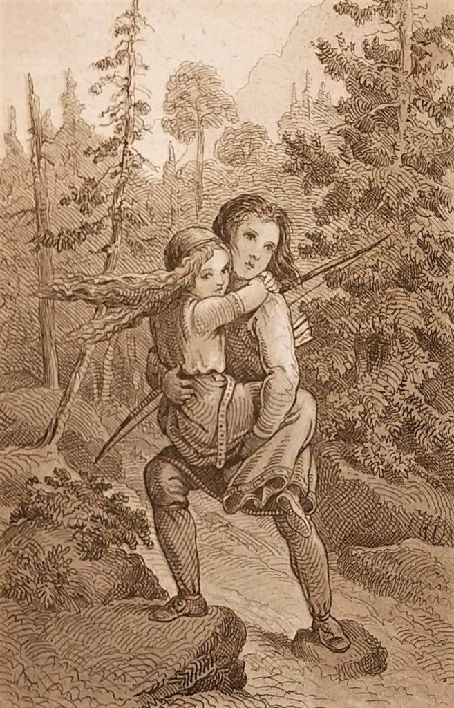 Figur 9. Peter Nicolai Arbos illustrasjon til Frithjofs Saga 1857