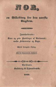 Figur 4. Tittelside til 2. utg. av Nor 1843