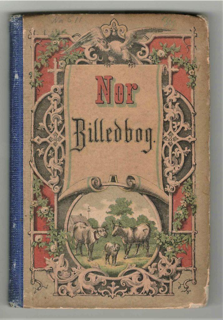 Figur 5a. Foromslag til 3. utg. av Nor 1865