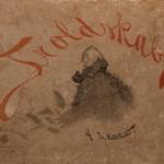 Boken Troldskab av Th. Kittelsen (1892). Foto: Jensen, Stina Aadland / Stiftelsen Kulturkvartalet