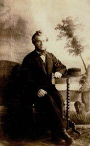 Figur 1: Den ukjente lillebror Christian Gerhard Faye (1824–1910). Foto: Privat eie.